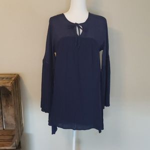 Volcom blue tunic size small